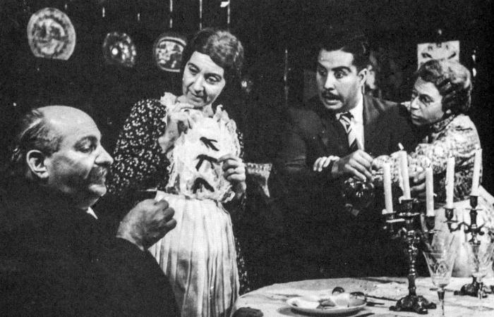 Antônio Brito Miguel, Diná de Oliveira, Reinaldo e Geninha da Rosa Borges em Arsênico e Alfazema (Foto: Acerdo do TAP)
