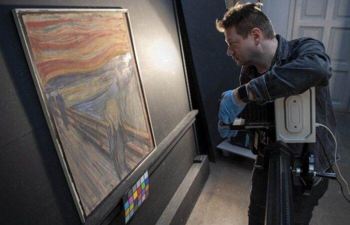 Pesquisadores passaram anos buscando quem poderia ter 'rabiscado' o quadro icônico, que se tornou símbolo da angústia existencial (Foto: Annar Bjoergli / The NATIONAL MUSEUM OF NORWAY / AFP)