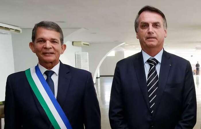 foto: Marcos Corrêa/PR (Bolsonaro indicou o general Joaquim Silva e Luna para a presidência da Petrobras)