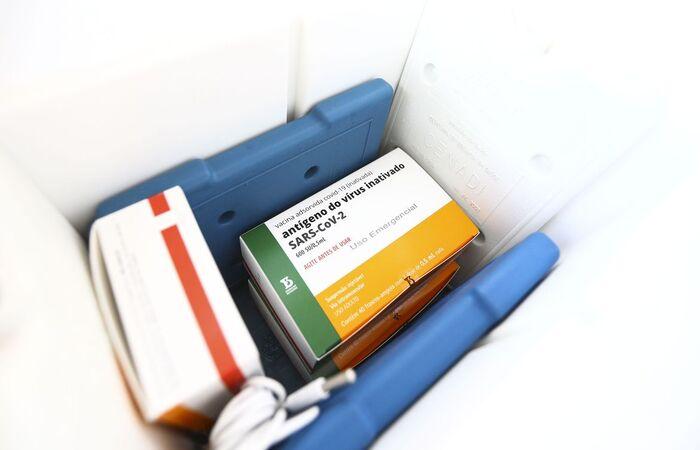 Ministério da Saúde recebe hoje 1,2 milhão de doses (Foto: Marcelo Camargo/Agência Brasil )