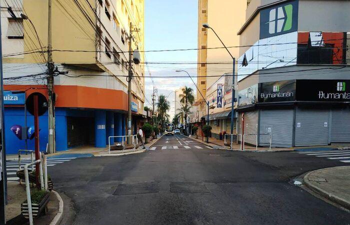 Cidade iniciou isolamento total no domingo (Foto: Divulgação/Prefeitura de Araraquara )