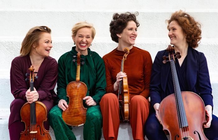 Quarteto holandês Ragazze é um dos destaques da programação (Foto: Nichon Glerum/Divulgação)