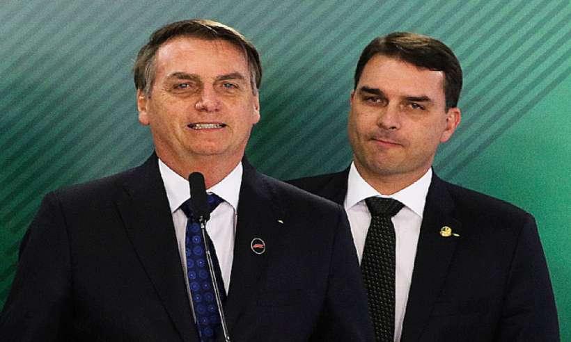(A ordem repassada por Bolsonaro para alguns integrantes da equipe ministerial é para que eles evitem comentar a compra da mansão por Flávio. Foto: Valter Campanato/Agência Brasil)