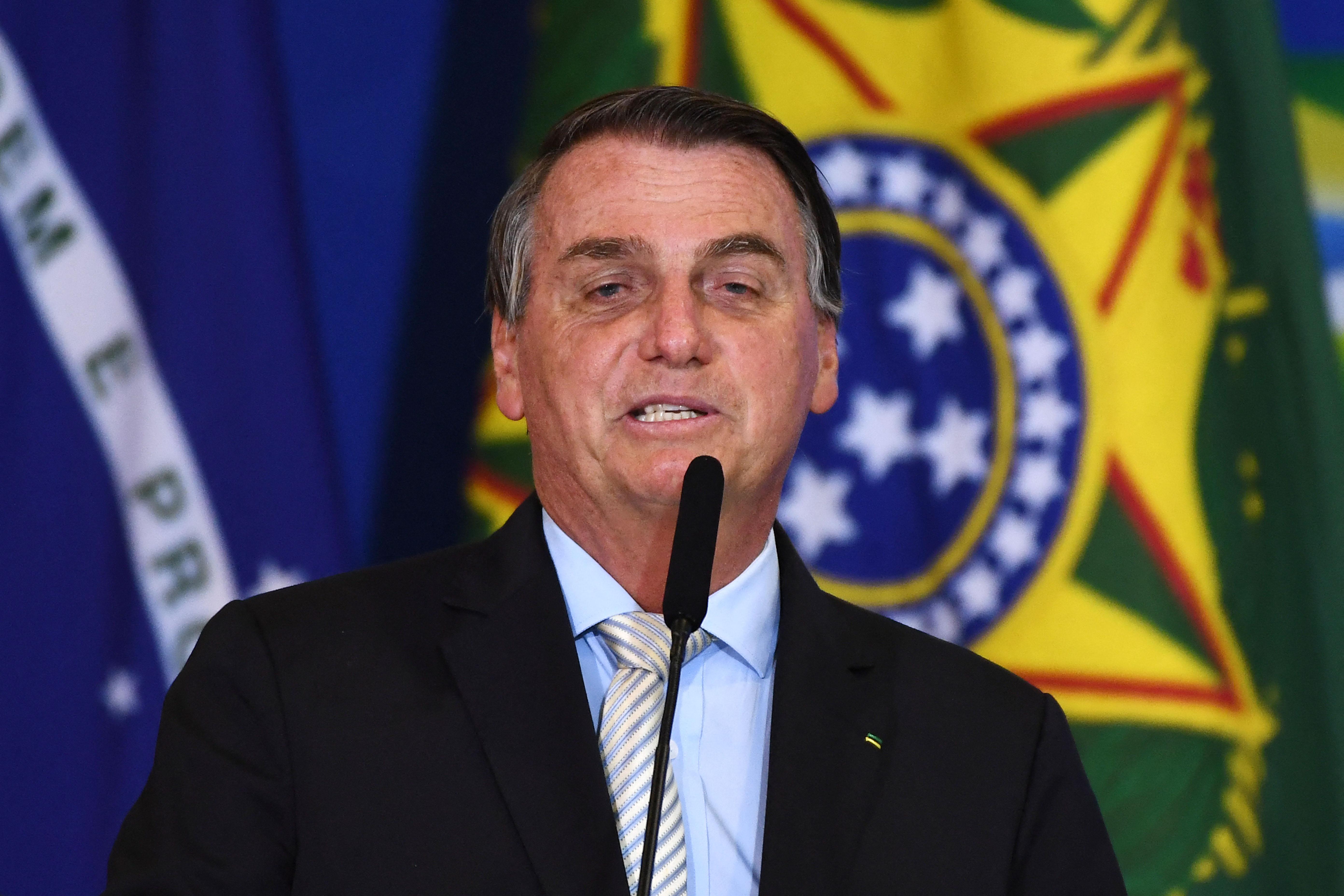 (Bolsonaro demorou a reconhecer a vitória do atual presidente norte-americano. Foto: EVARISTO SA / AFP)