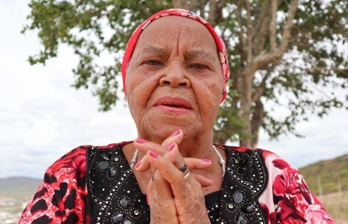"""Mestre Severina Lopes tem sua história contada por sua neta no documentário """"Mulheres da Roda do Samba de Coco Arcoverdense"""" (Foto: Cine Arcoverde/Divulgação)"""