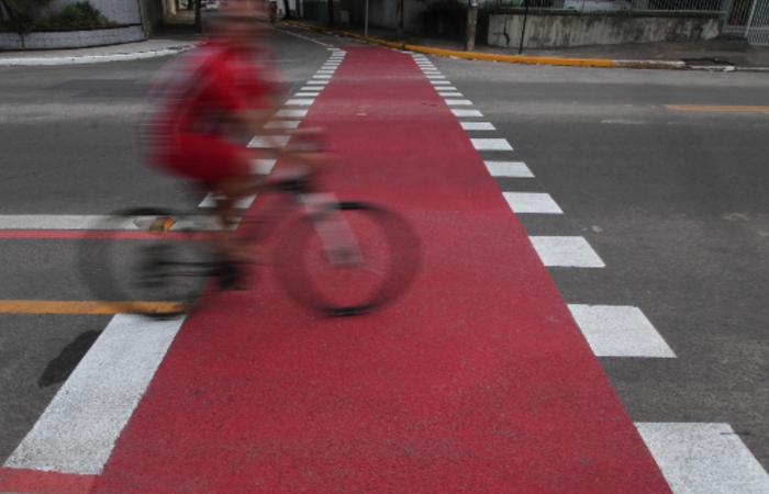 (Meta da atual gestão municipal é implantar 100 km de rotas cicláveis até 2024. Foto: Peu Ricardo/DP)
