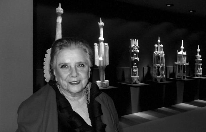 Janete Costa na Bienal de Valencia (Foto: Cepe/Divulgação)
