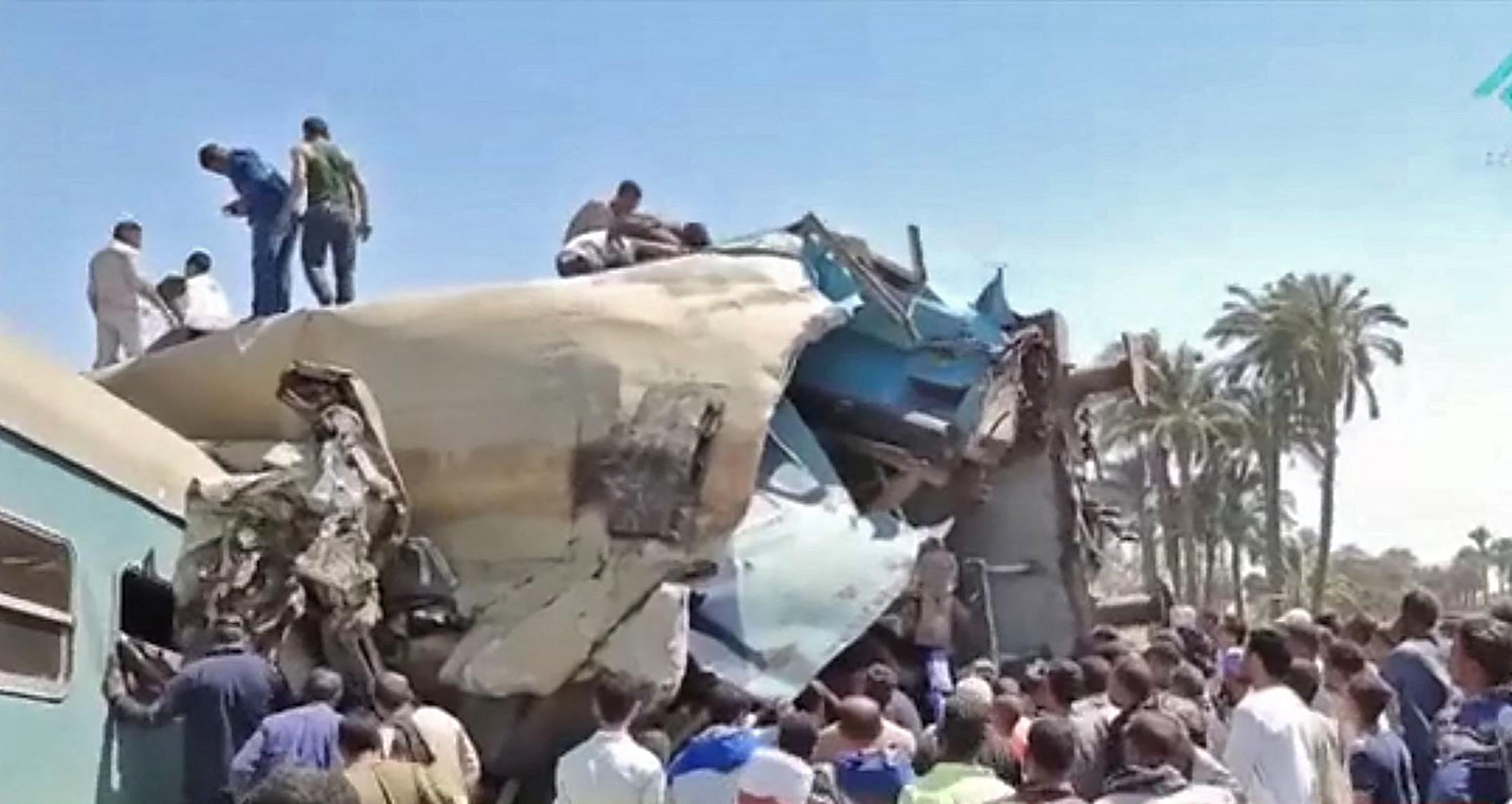 (Foto: STRINGER / EGYPTIAN STATE TV / AFP)