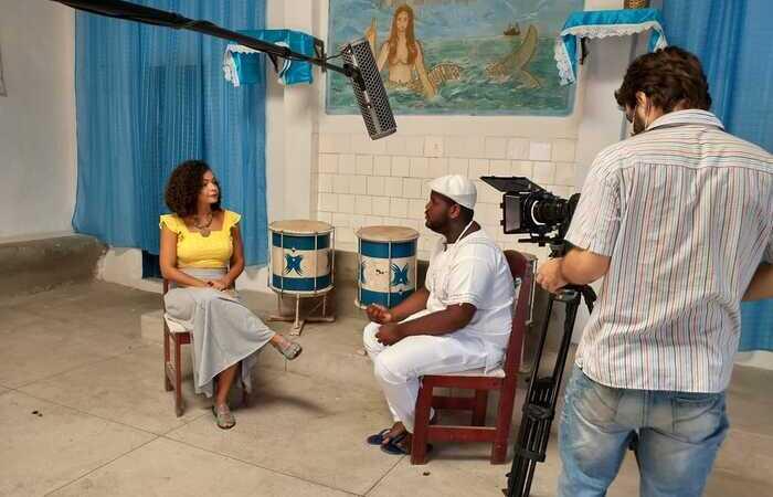 No segundo episódio da série, que estreia nesta terça (30), a conversa é sobre ancestralidade dos terreiros com Lucas Gabriel (Foto: Divulgação)