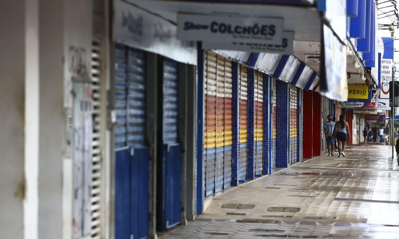 (O decreto estabeleceu regras e horários específicos de funcionamento. Foto: Marcelo Camargo/Agência Brasil)