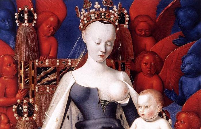 Díptico de Melun, de Jean Fouquet (Foto: Reprodução da Internet)