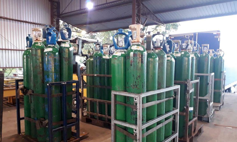 (Ao menos 78 municípios se encontram na iminência de ficar sem oxigênio. Foto: Divulgação/Ministério da Saúde)