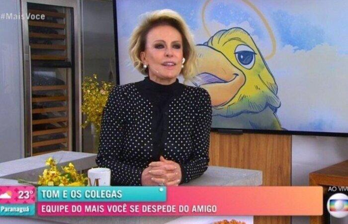 Muito tem se especulado desde que o cenário do programa foi reformado, mas manteve o espaço para o mascote (Foto: TV Globo/ Divulgação)