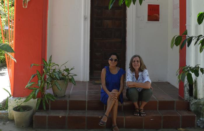 O curso Táticas Visuais será ministrado pelas produtoras culturais Clarice Hoffmann e Lia Letícia (Foto: Divulgação)