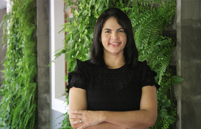 Coordenadora Liliane Fonseca diz que a diversidade das pessoas é o que faz o curso de computação (Foto: Débora Dantas/Esp DP)