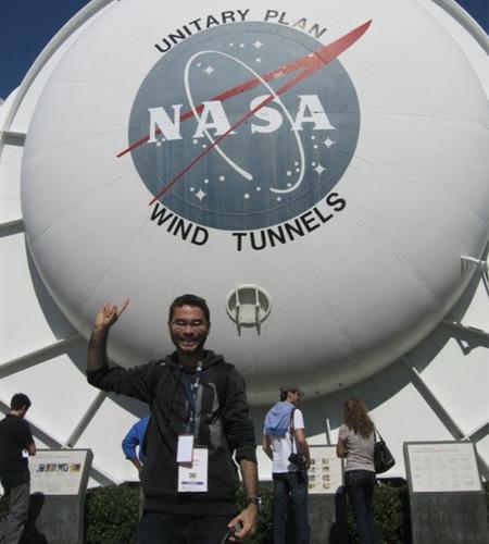 O ex-aluno Carlos Renato estudou na Singularity University. (Foto: Arquivo Pessoal)