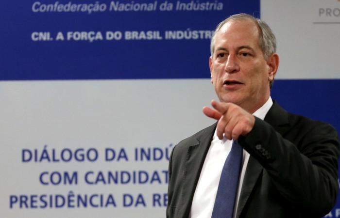 Ciro Gomes (PDT) é um dos que assina o texto. (Foto: André Carvalho/CNI.)
