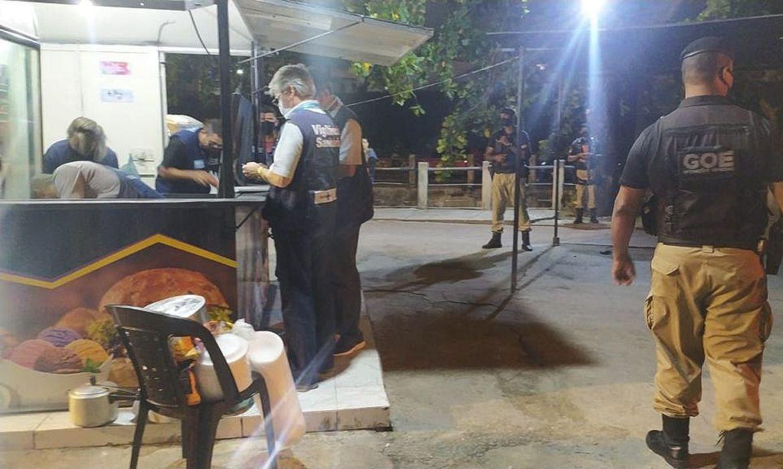 (Decreto com medidas restritiva está em vigor até quinta-feira. Foto: Secretaria Municipal de Ordem Pública do Rio/Divulgação)