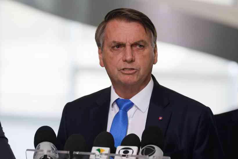 (Durante discurso, Bolsonaro afirmou que o 'vírus é grave mas seus efeitos têm que ser combatidos'. Foto: Marcos Correa/PR)