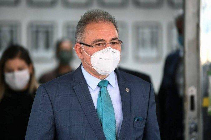 (Decisão do ministro Kássio Nunes Marques, publicada no último sábado (3), autorizou celebrações religiosas em todo o Brasil em meio ao pior momento da pandemia. Foto: AFP/Evaristo Sa)