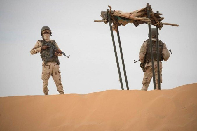 (Burkina Faso é alvo deste tipo de ataque desde 2015. O país faz fronteira com Mali e Níger, onde a ofensiva jihadista é frequente. Foto: THOMAS SAMSON/AFP)