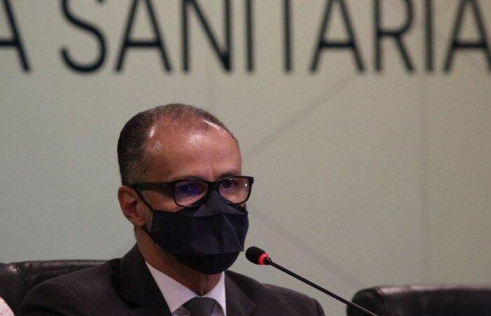 A missão de vigilância sanitária à Rússia foi divulgada pelo diretor-presidente da Anvisa, Antonio Barra Torres, em um vídeo divulgado nas redes sociais do presidente Jair Bolsonaro (crédito: Fabio Rodrigues Pozzebom/Agência Brasil)