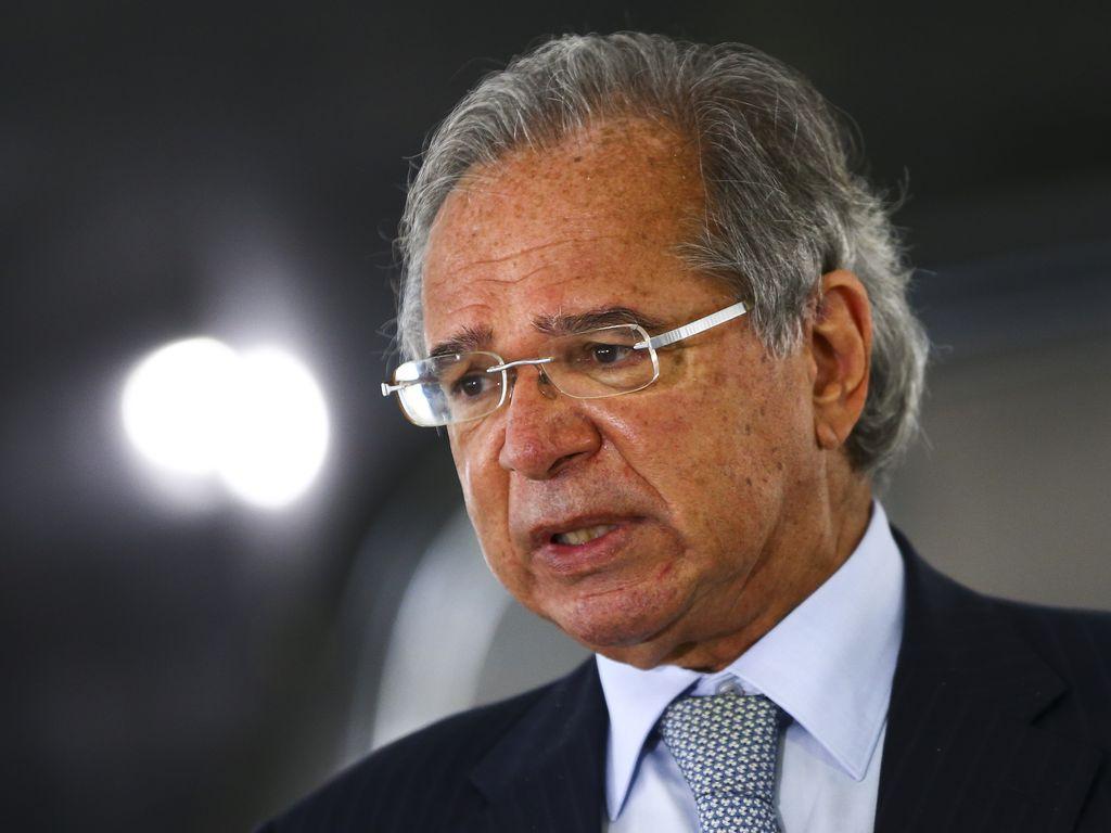(Em discurso enviado ao FMI, ministro elogiou PEC Emergencial.  Foto: Marcelo Camargo/Agência Brasil )