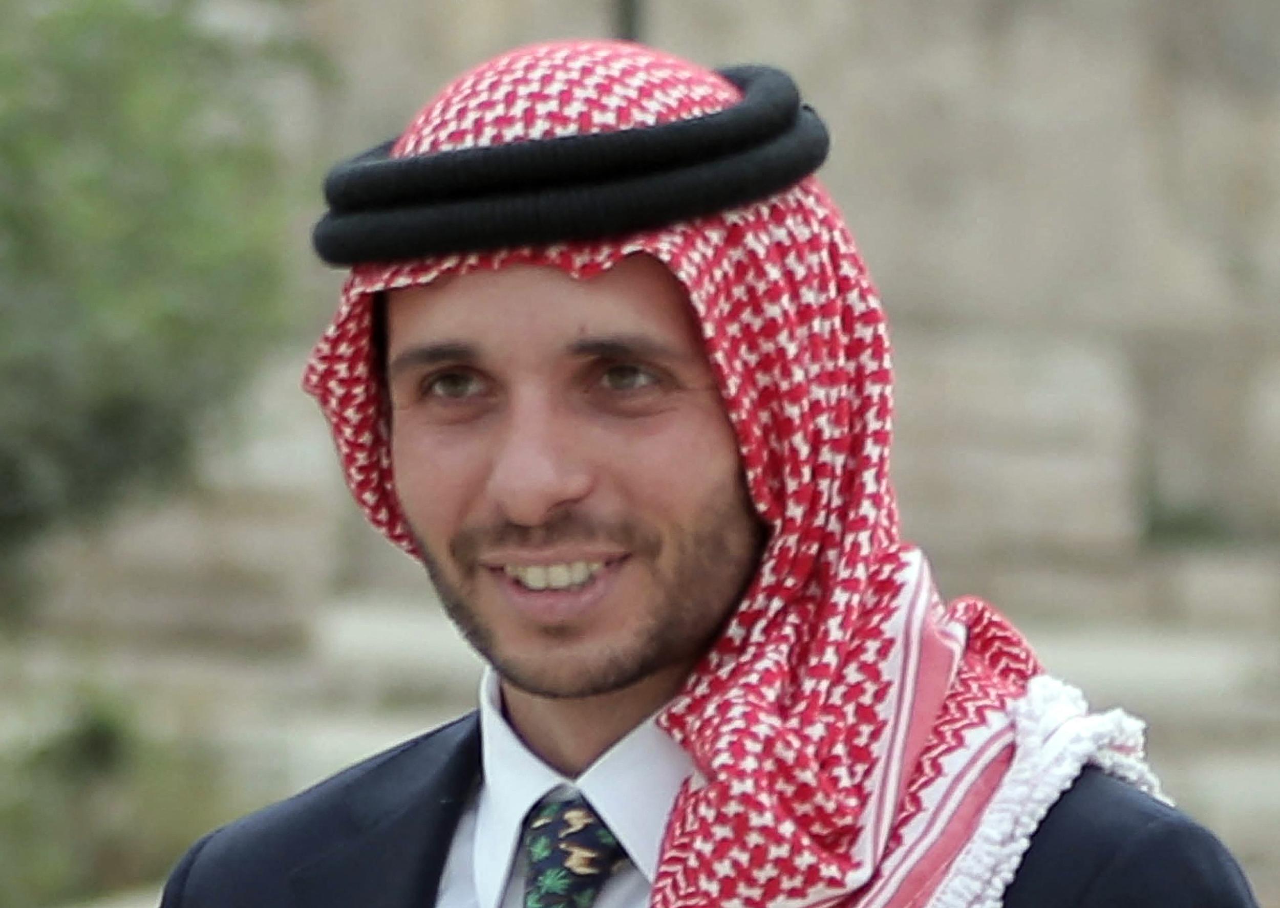 (O príncipe Hamzah negou as acusações sobre seu envolvimento em uma tentativa de conspiração. Foto: KHALIL MAZRAAWI / AFP)