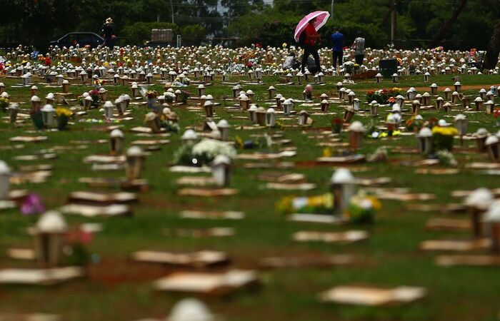 Entre 2019 e 2020 houve aumento de 8,3% no registro de mortes no país (Marcello Casal Jr/Agência Brasil)