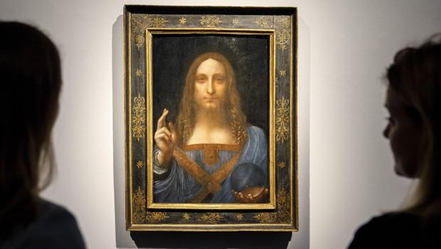 (O estudo do perito mostra, segundo a fonte, que 'Leonardo só contribuiu para a pintura'. Foto: Tolga Akmen/AFP/Getty Images)