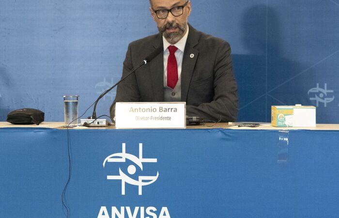 Antônio Torres falou na Comissão Temporária da Covid-19 no Senado  (Divulgação/Anvisa)