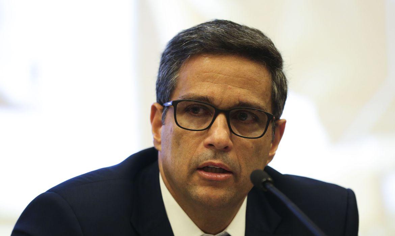 Presidente do BC ainda pediu cooperação de outros bancos centrais, para que haja características comuns às moedas digitais que estão em desenvolvimento pelo mundo  (Marcello casal Jr/CB/D.A Press )