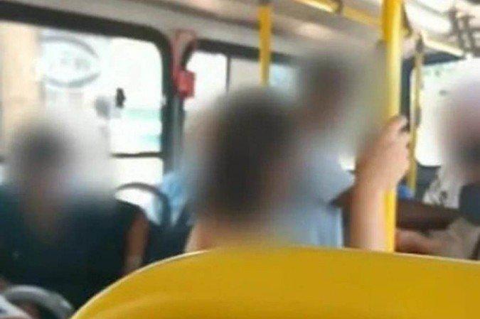 (A vítima, o autônomo de 29 anos, impediu que a mulher fugisse do local; crime foi filmado por outros clientes. Foto: Reprodução/Youtube)
