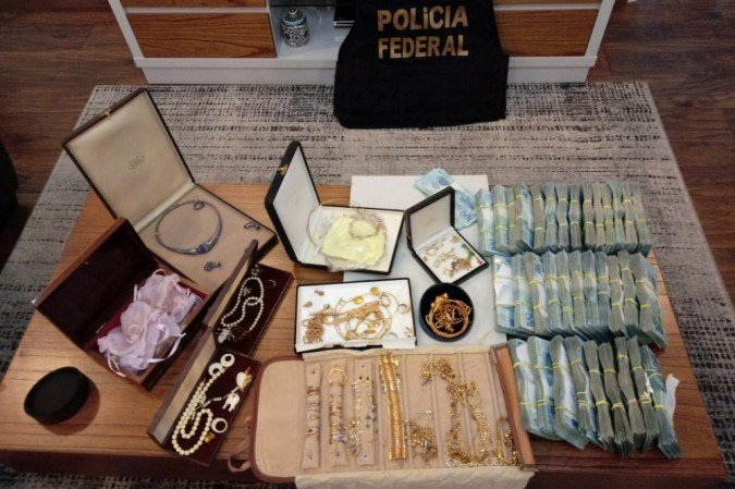(Apreensão de provas contra o PCC: combate ao crime organizado na Região Norte. Foto: PF/Divulgação )