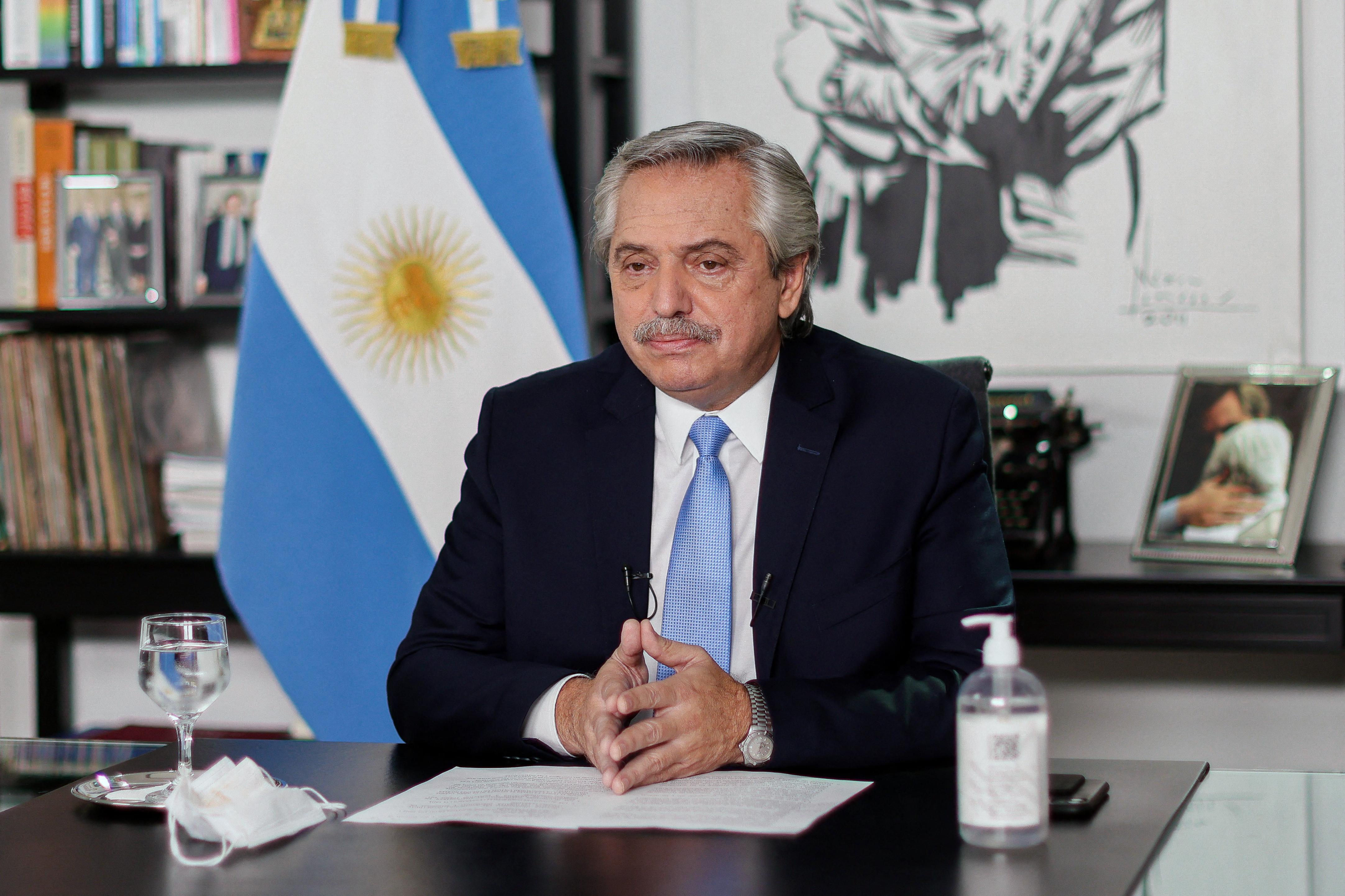(Foto: ESTEBAN COLLAZO / ARGENTINIAN PRESIDENCY / AFP)