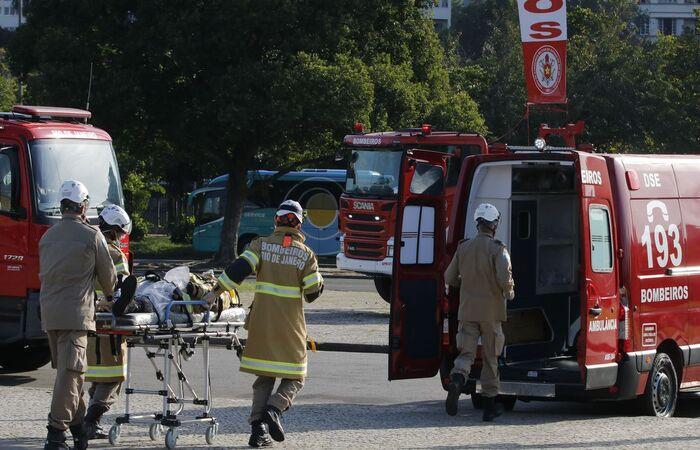 Viaturas policiais e de corpos de bombeiros estão incluídas no texto  (Tomaz Silva/Agência Brasil)