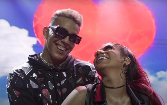 MC Elvis e Joyce Pereira (Foto: YouTube/Reprodução)