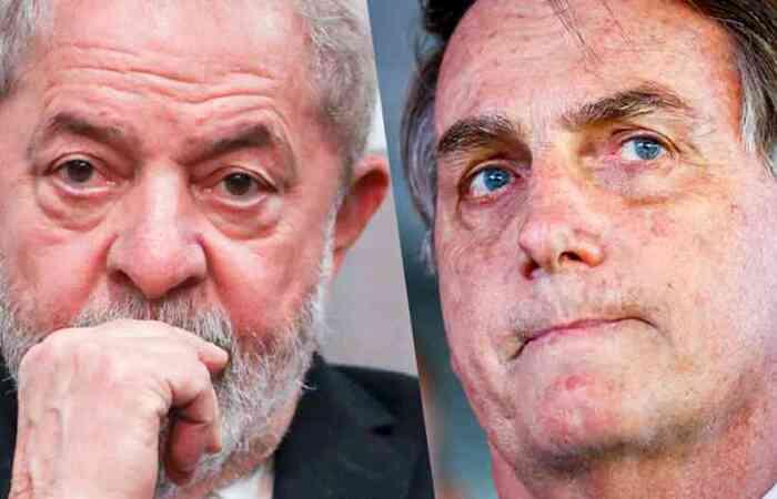 Referindo-se a Bolsonaro, Lula disse que para ganhar as eleições de 'um fascista', ele pode ser candidato em 2022  (foto: Agência Brasil/Reprodução)