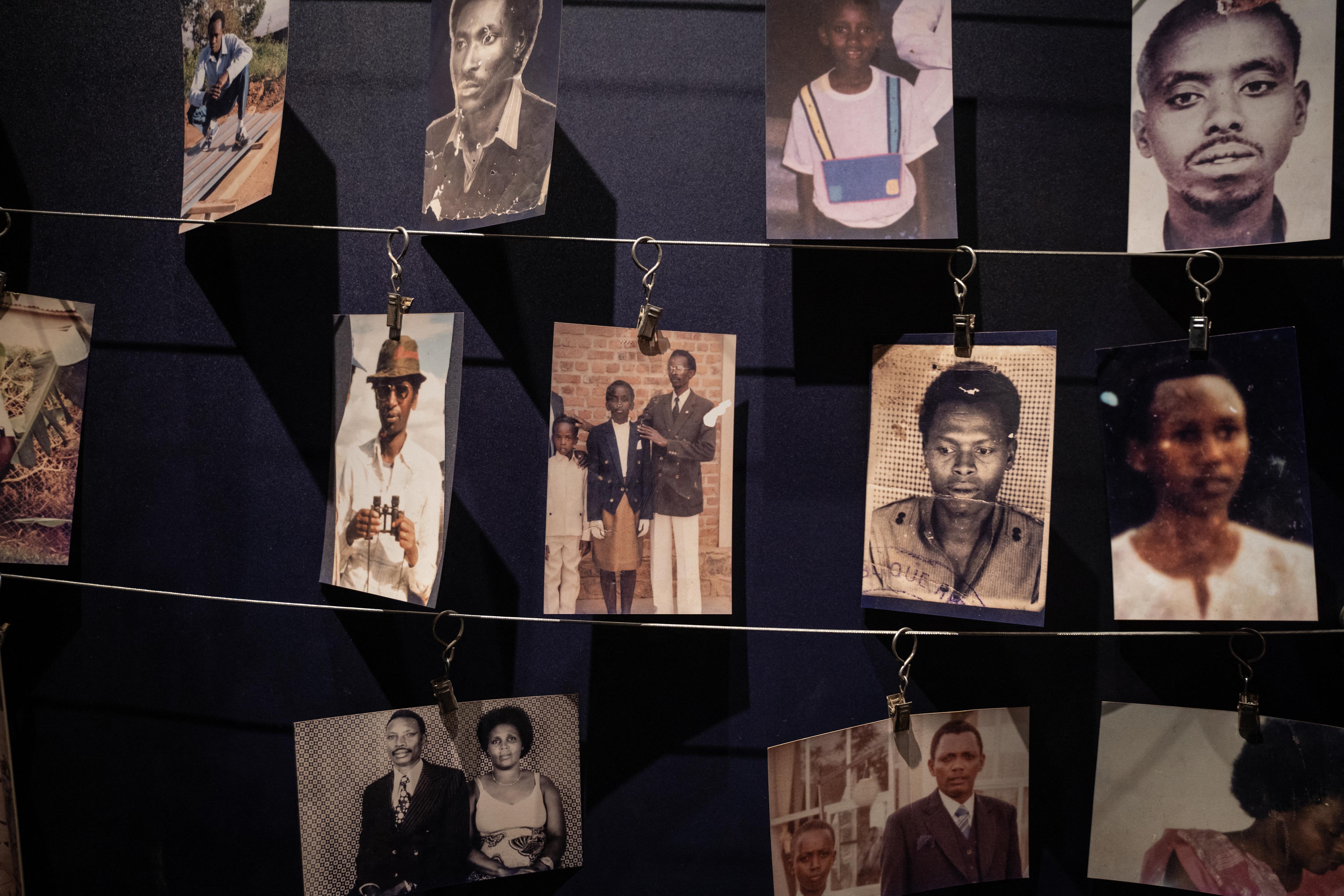 (Mais de 800.000 pessoas foram assassinadas entre abril e julho de 1994 em Ruanda. Foto: Simon Wohlfahrt / AFP)