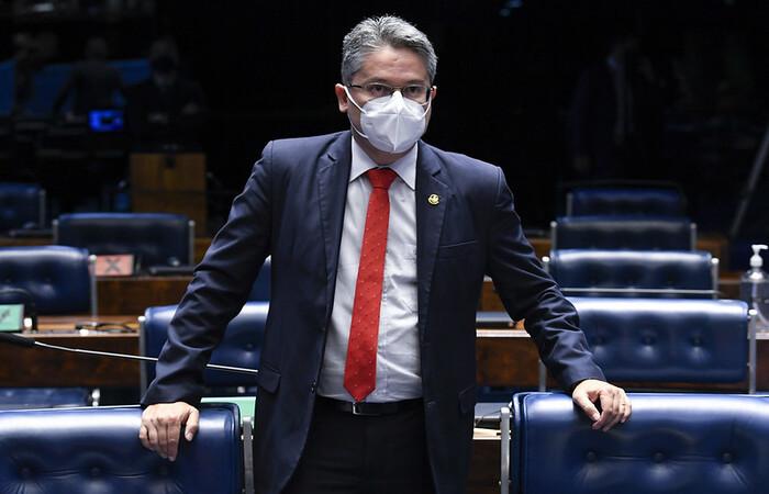 Senador Alessandro Vieira (Cidadania-SE) (Foto: Jefferson Rudy/Agência Senado)