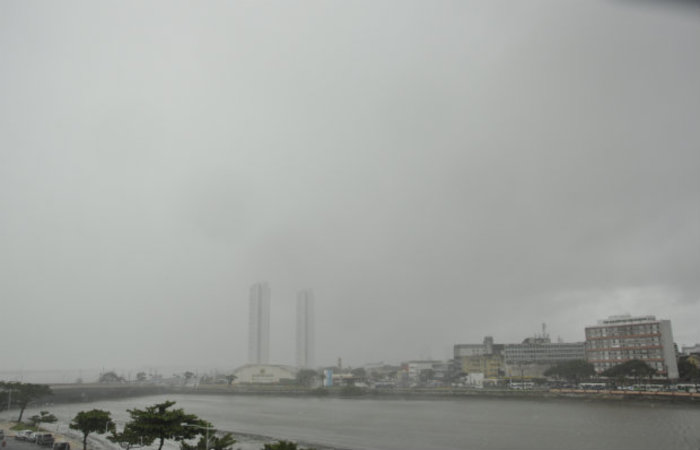 O tempo deverá permanecer nublado e parcialmente nublado em todas as regiões do estado (Everson Verdiao/Arquivo DP/D.A.Press)