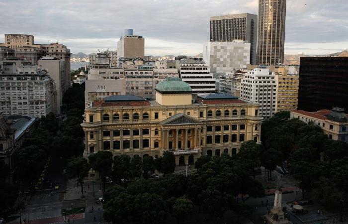 Sede da Biblioteca Nacional fica no Rio de Janeiro (Foto: Fernando Frazão/Agência Brasil)