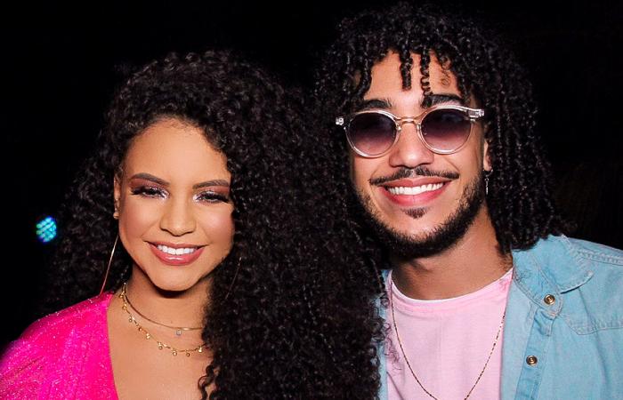 Zianne Martins e Ellyson Marques, os vocalistas da Banda Sentimentos (Foto: WS/Divulgação)