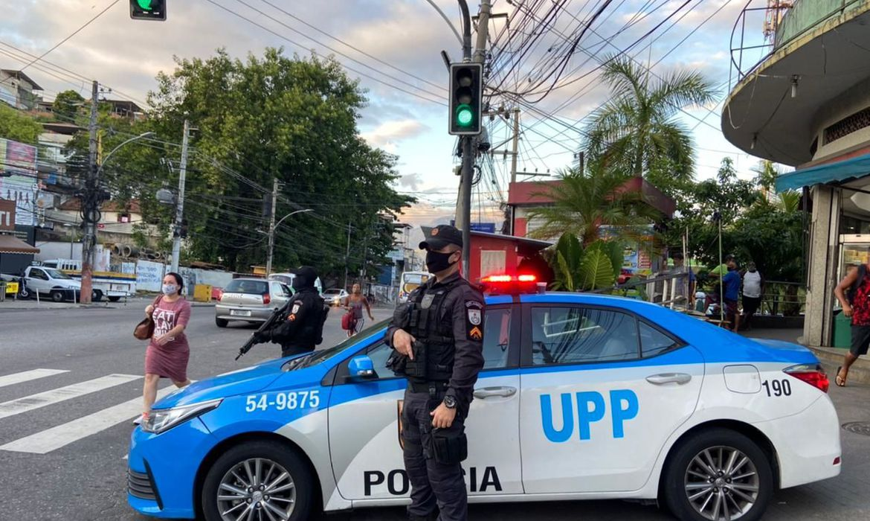 (Foto: Perfil oficial da Polícia Militar do Estado do Rio de Janeiro)