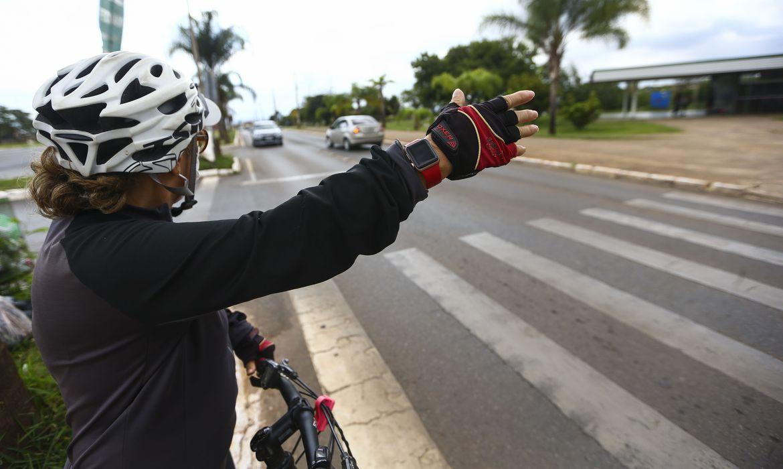 (Campanha reduziu em 83% o número de mortes de pedestres. Foto: Marcelo Camargo/Agência Brasil)