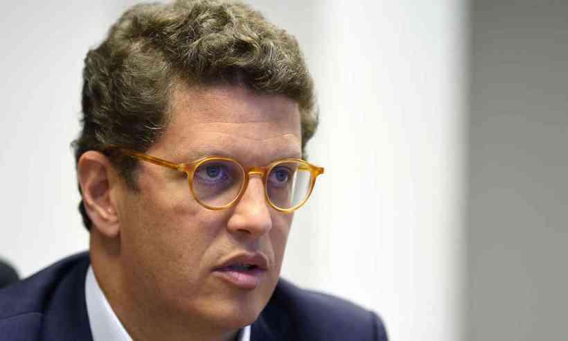 (Questionamentos à política ambiental brasileira pressionam ministro Ricardo Salles. Foto: Evaristo Sá/AFP)