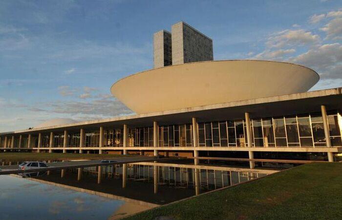 O Congresso Nacional é apenas uma das obras da lista entregue pelo próprio Niemeyer ainda em vida para análise (Foto: Arquivo/Agência Brasil)