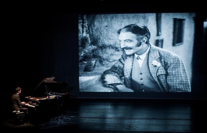 A programação vai até o dia 27 e conta com clássico filme da dupla O Gordo e o Magro (Foto: Instagram Cinepiano/Reprodução)