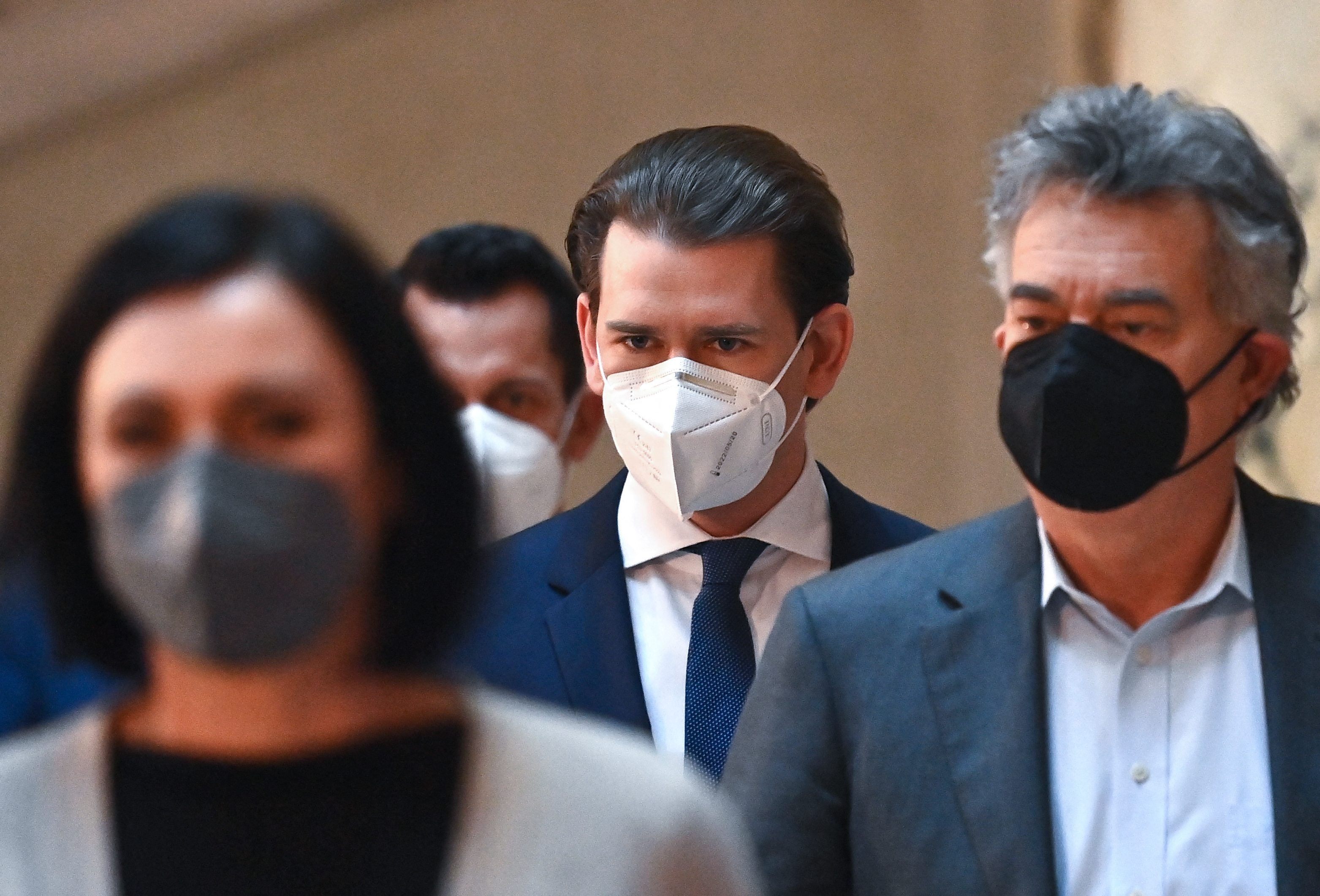 (chanceler conservador Sebastian Kurz. Foto: JOE KLAMAR / AFP)