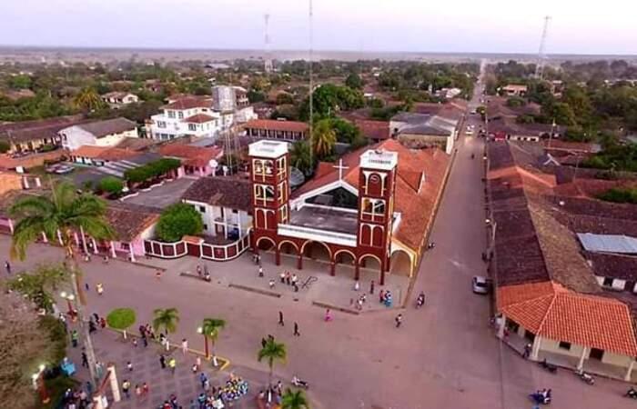 O ocorrido aconteceu na cidade de Santa Ana del Yacuma (Foto: Facebook/Reprodução)
